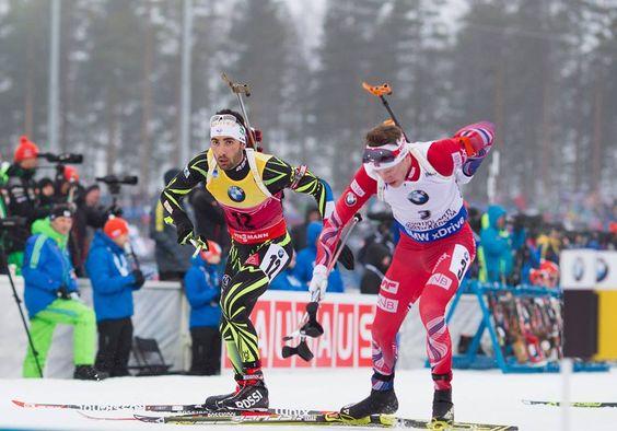 Martin Fourcade dossard N°121  Le moment que vous attendez tous est arrivé. Le quadruple vainqueur de la coupe du monde de biathlon prendra le départ samedi à 14h05 du 15km skating de Beitostölen. Face à lui les meilleurs fondeurs Norvégiens et Français...