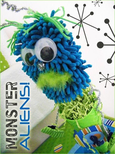 Monster Alien-very DIYboys birthday