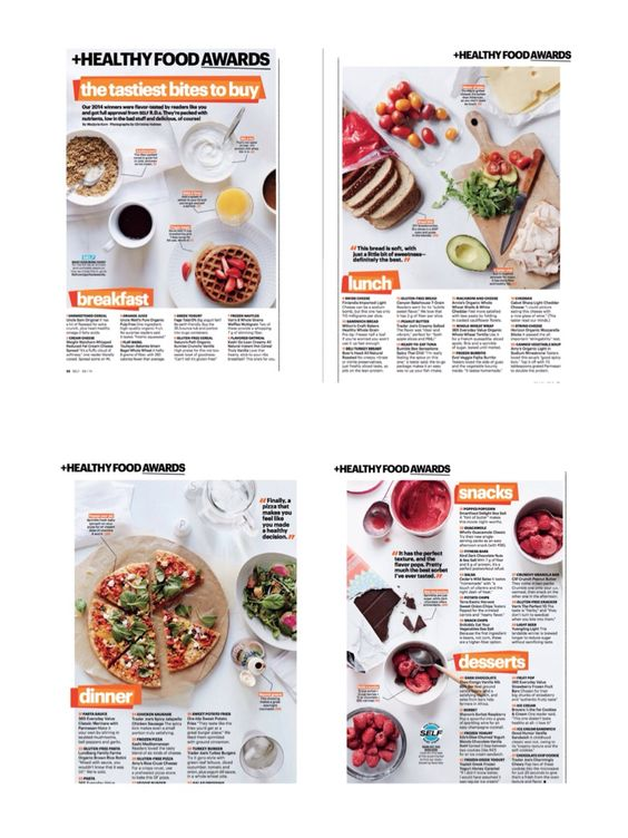 """Healthy Food Awards"" Self Magazine Photographs By: Christina Holmes"