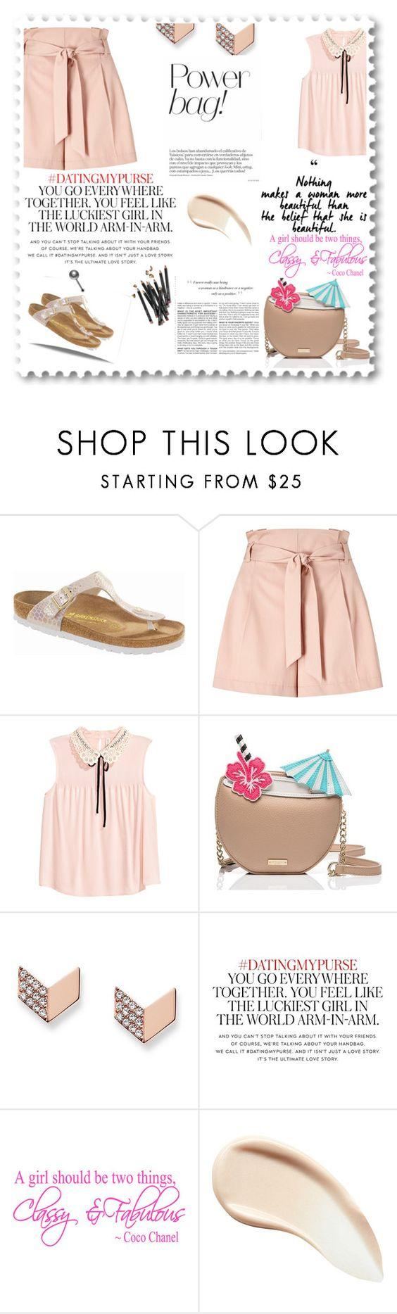 """englinsfinefootwear."" by sonila-vl ❤ liked on Polyvore featuring beauty, Birkenstock, Miss Selfridge, Kate Spade, FOSSIL, Burberry, Bobbi Brown Cosmetics, BCBGMAXAZRIA and englinsfinefootwear"