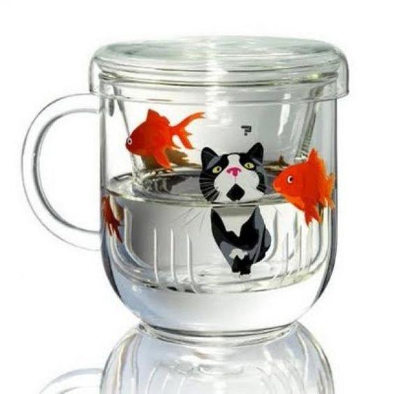'Cat Tea Cup' #OhlandtVet