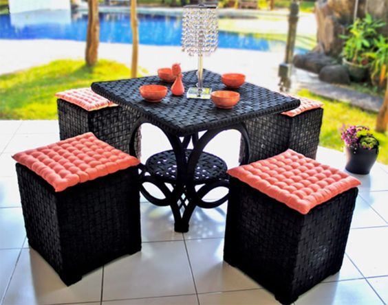 Mesas table and chairs and tire table on pinterest for Diy tire chair