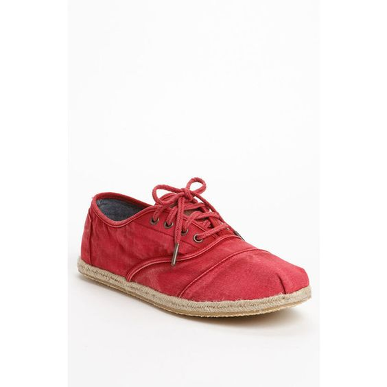 TOMS 'Cordones' Sneaker (Men) via Polyvore