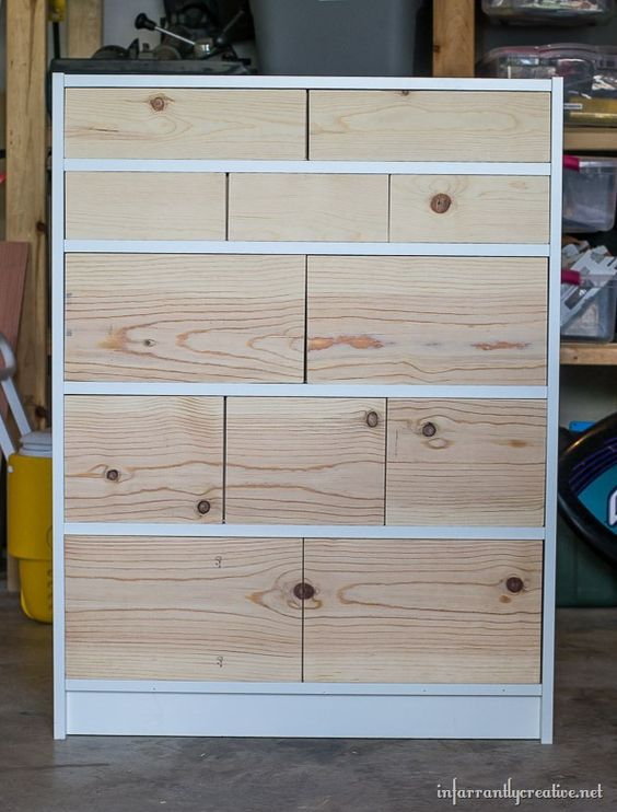 ikea billy bookcase  drawer hack challenge  bookcase