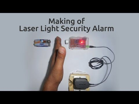 Homemade Laser Security System Wireless Home Security Systems Security Alarm Alarm Systems For Home