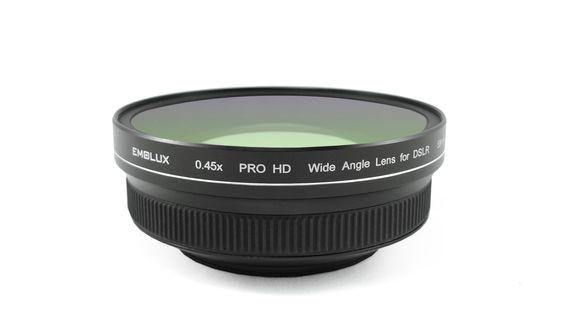 Emolux 0.45x PRO HD Wide Angle conversion lens for DSLR