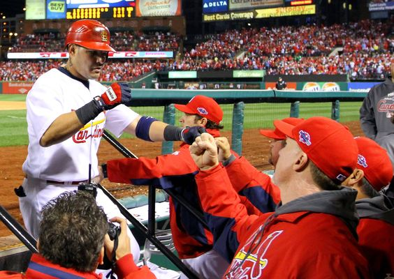 Game 4 of the NLCS- Yadier Molina 10-18-12