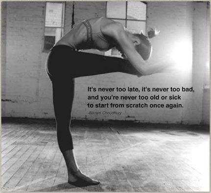 Nunca es tarde...