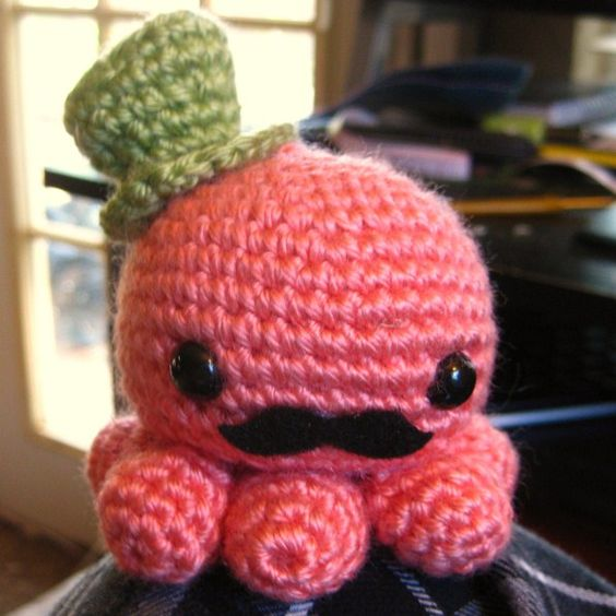 Free Pattern Crochet Octopus : Pinterest The world s catalog of ideas