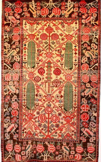 Mint Condition Antique Bakhtiari Rug