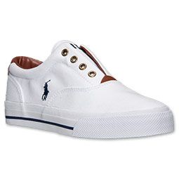 Women\u0026#39;s Polo Ralph Lauren Marine Casual Shoes | FinishLine.com | White