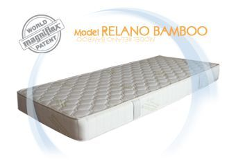 The mattress core is made of Elioform foam, a cell structure that gives you solid support