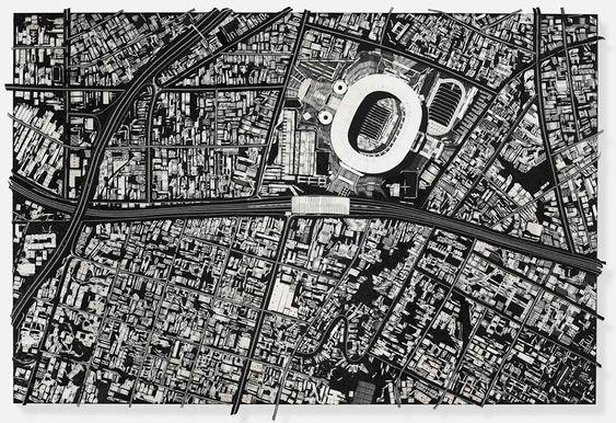Damien Hirst construye ciudades con imperdibles y bisturís | The Creators Project
