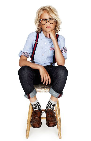 Lindex (Kid looks fab, but unless you're in the elitist areas of the north east, he's gonna get beat up):