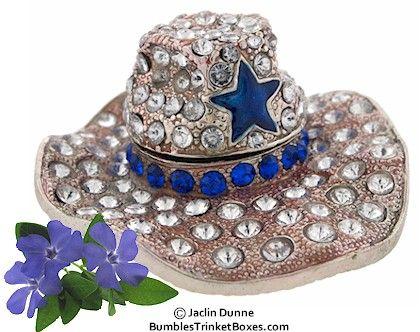 Trinket Box: Ten Galon Cowboy HatTrinket Box