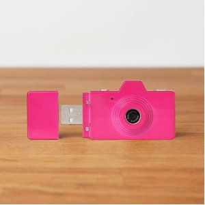$49.95 http://amzn.to/K75SCm Superheadz CLAP Digital Camera Powershovel Dressy Pink