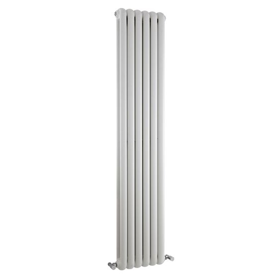 Mojave White 1800mm x 383mm Double Vertical Radiator