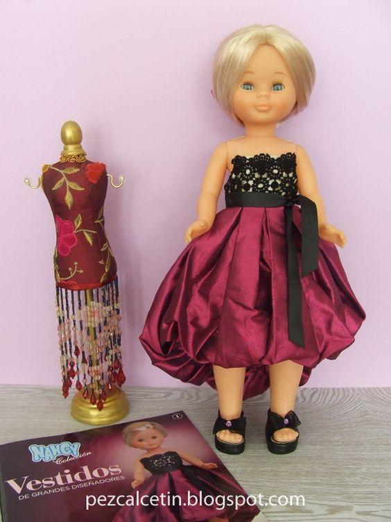 Pez Calcetin ®   Creaciones bonitas para el Bienestar ♥ Nancy vestido alta costura