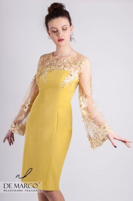 Eleganckie Sukienki Dla Matki Wesela Polscy Projektanci Sklep De Marco Dresses Formal Dresses Gowns