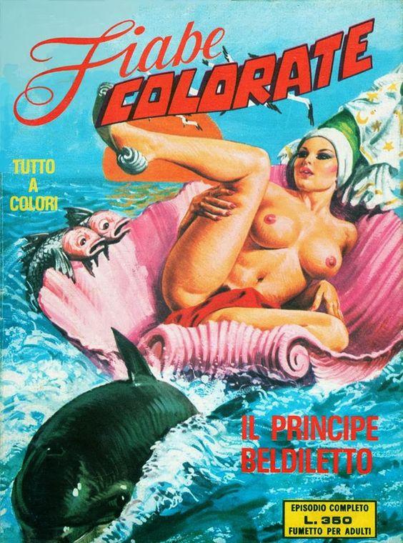 ART : Emanuele Taglietti  Fiabe colorate n. 3  (1975)