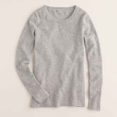 JCrew cashmere sweater long sleeve tees..never goes out of style and so comfy!