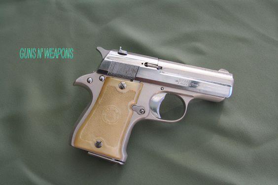 Star 22LR Nickel Finished Pocket Pistol