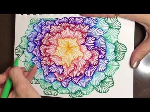 Zendoodling The Tangle Ginili In My Quigtangle Zentangle Youtube Zentangle Zentangle Patterns Tangle Doodle