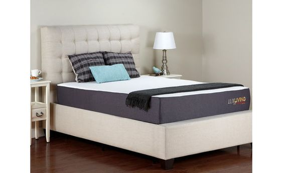 Lux Living Memory Foam Latex Mattress - Sleep Train