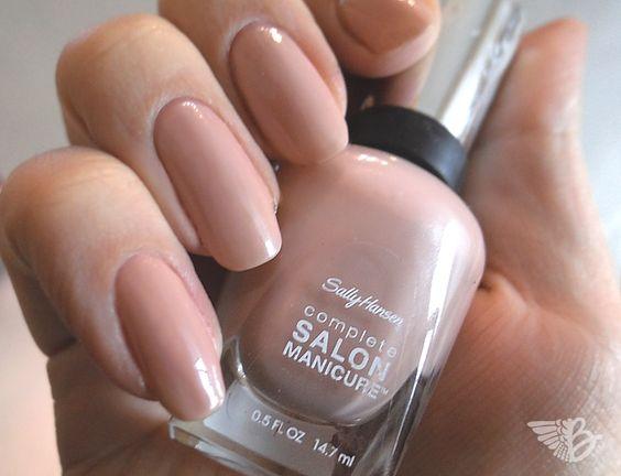 """Sally Hansen Complete Salon Manicure – Nr. 220 """"Café au Lait"""""""