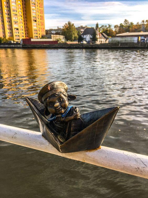 Мореплаватель на перилах
