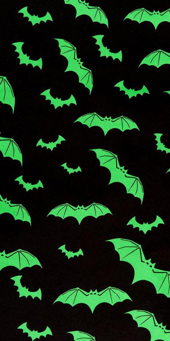 Cute Halloween Bats Wallpaper