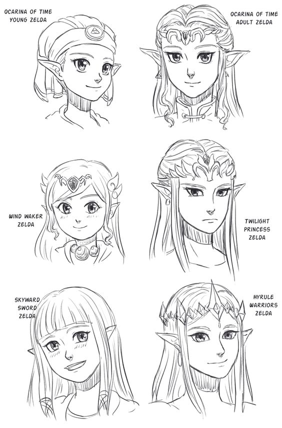 You Can See The Different Personalities In Each Zelda By