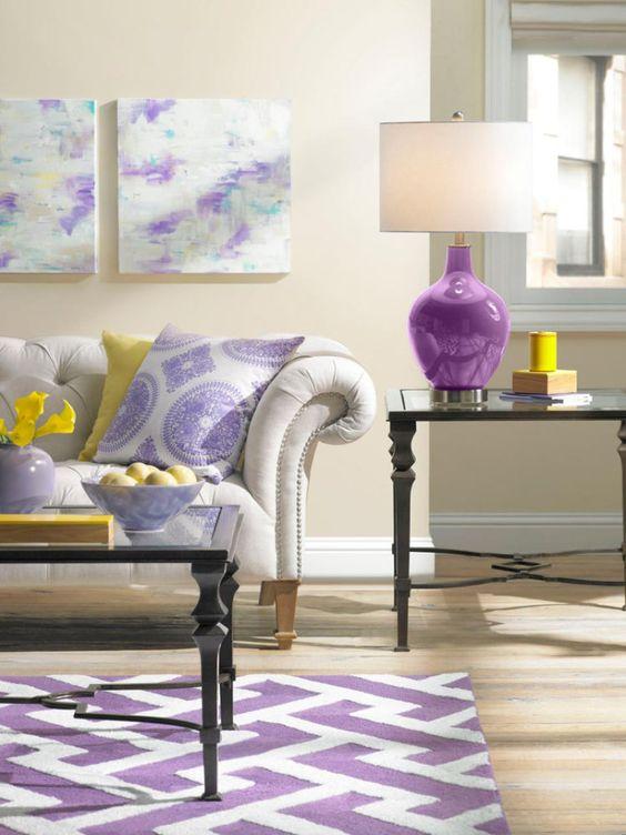Lampe violet11: