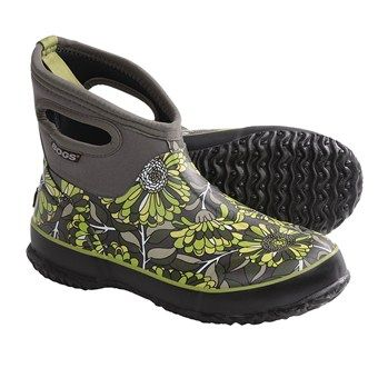 Bogs Footwear Classic Short Mumsie Rain Boots - Waterproof (For ...