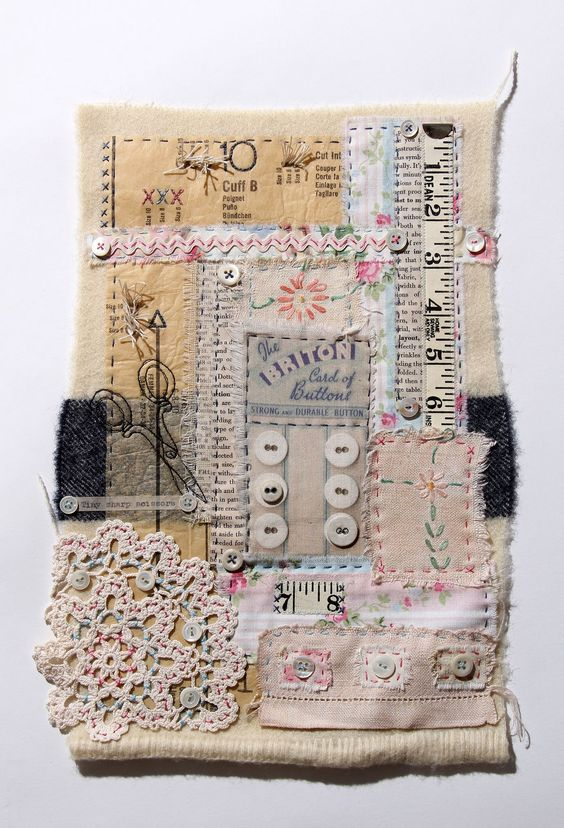 Sewing box vintage fabrics and mom on pinterest