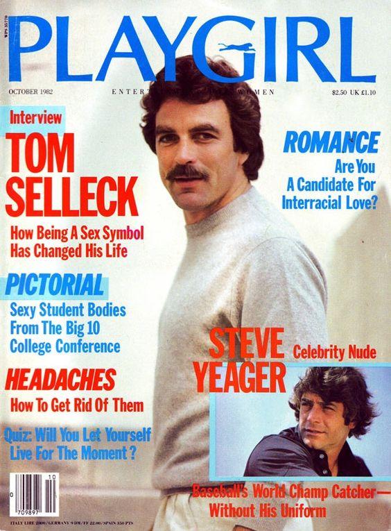 Tom Selleck - Playgirl Oct 1982  Tom Selleck -4802
