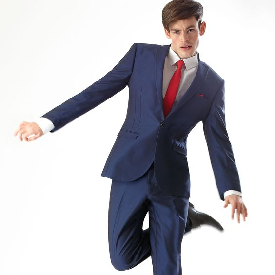 Choose Blue for Prom Suit // Slaters Prom Collection 2014 | Guys