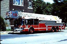 Chicago FD Truck 39 - 1996 HME Simon Duplex LTI 102' Tower.