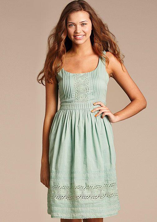 dELiAs > Vintage Eyelet Dress...but in white
