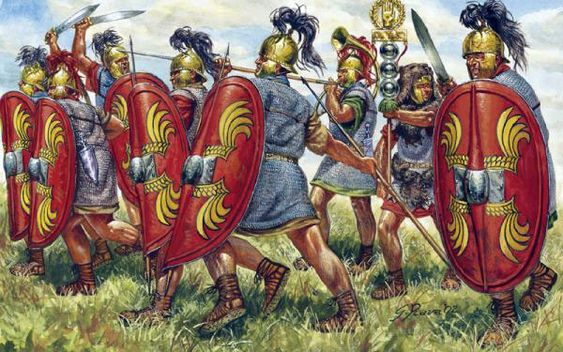 Republican Roman legionaries