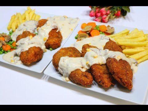 كوردون بلو الدجاج مع الصوص الجبنة بتتيلة لذيذة جدا بطريقة مبسطة والطعم اكثر من روعة مع رباح محمد Youtube Cooking Cooking Recipes Recipes