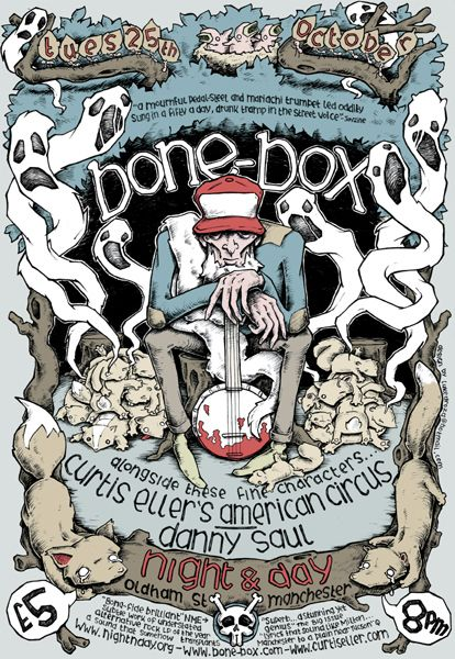 GigPosters.com - Bone-box - Curtis Ellers American Circus - Danny Saul