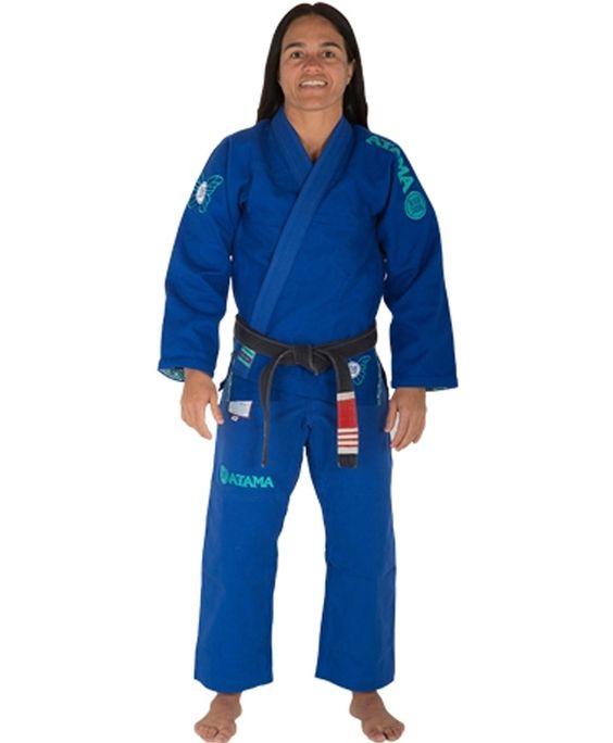 Atama Letícia Ribeiro 2.0 GI - Blue Jiu Jitsu Judo Training and Competition