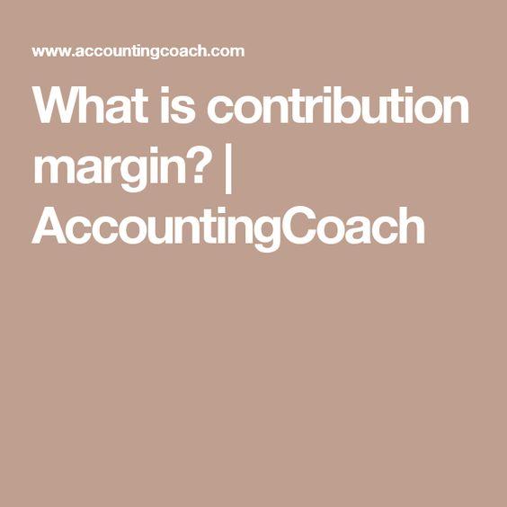 Die Besten  Contribution Margin Ideen Auf   Thurrock