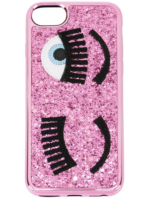 Chiara Ferragni Glitter Cover Iphone 8 - Farfetch   Glitter iphone ...