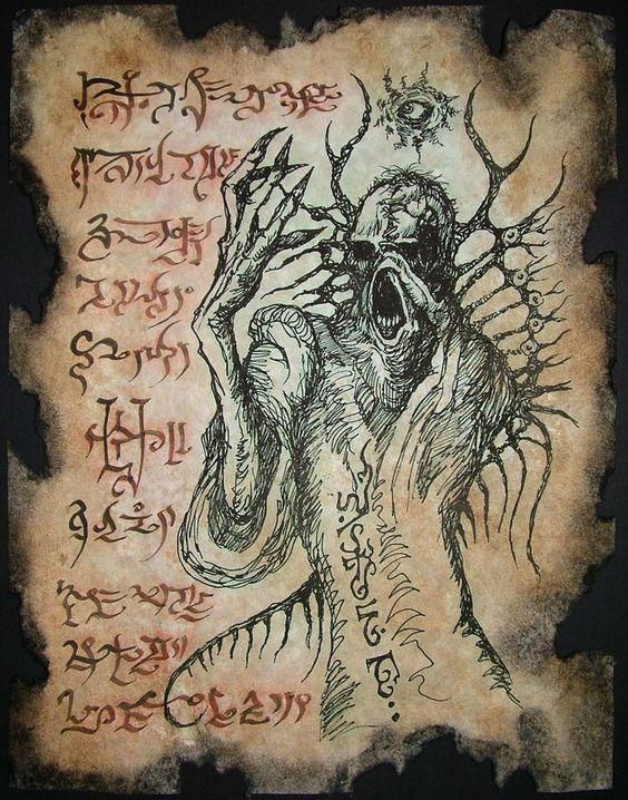 El Necronomicón,un libro salido de los infiernos 3154aed478d2d57b483942404a353fd1