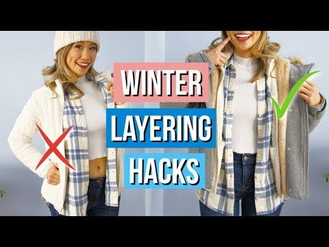 Layering Winter Clothing Hacks You Must Know Youtube Clothing Hacks Diy Winter Clothes Winter Outfits