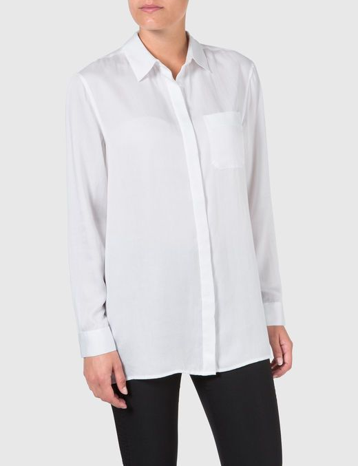 ETHEL SOFT LYOCELL SHIRT, White