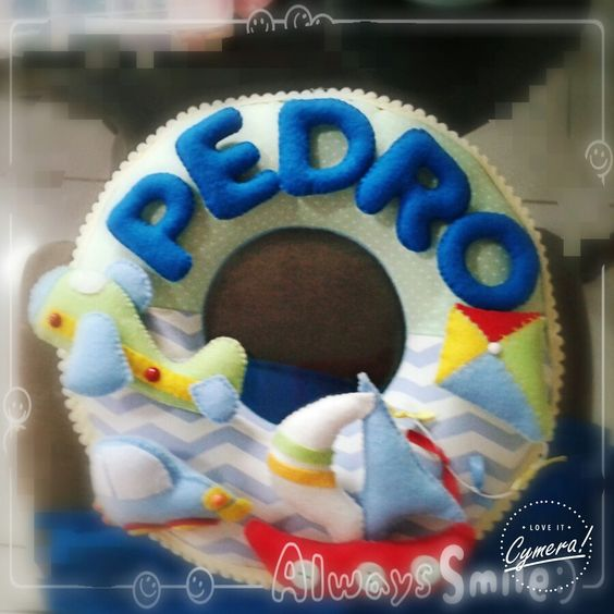 Porta maternidade Pedro