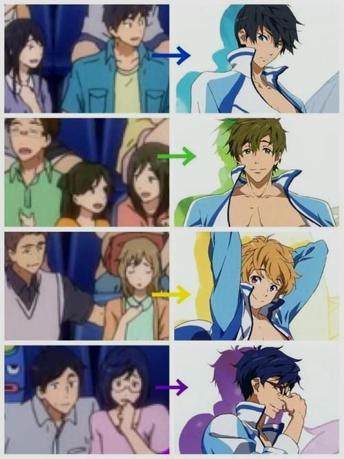 Do You Like It How Was Before Or After If You Love Anime Then Don T Click Here H Free Anime Free Iwatobi Swim Club Free Iwatobi